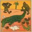 Krokodýlí ohon, pila-samopohon