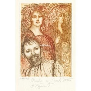 Alfons Mucha a Sarah Bernhardt