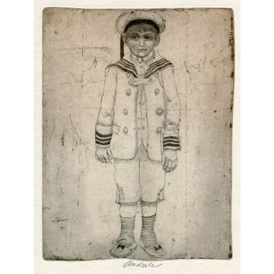 Námořníček u fotografa (B.Hrabal: Ani mráčku na obláčku), opus 555