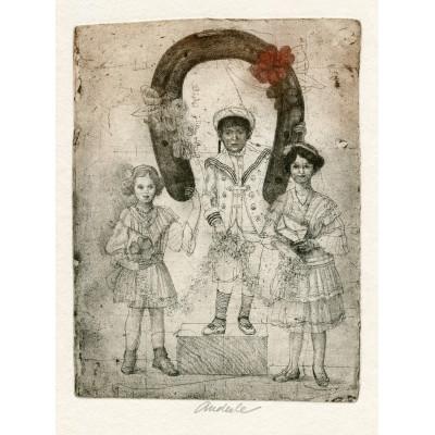 Podkova pro štěstí (B.Hrabal: Ani mráčku na obláčku), opus 555