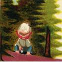 Dravec na větvi