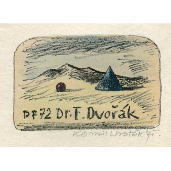 Jehlan a koule v krajině - PF 1972 Dr.František Dvořák