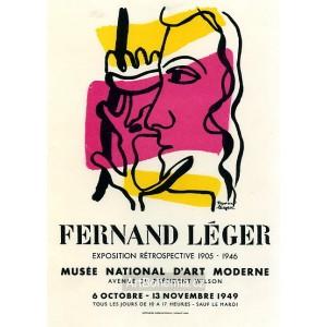 Rétrospective 1905-46 - Musée national d´Art moderne, 1949 (Les Affiches origina
