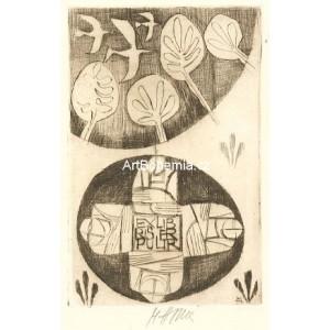 Čtyři postavy a čtyři stromy