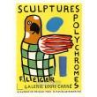 Sculptures polychromes - Galerie Louis Carrré, 1953 (Les Affiches originales)
