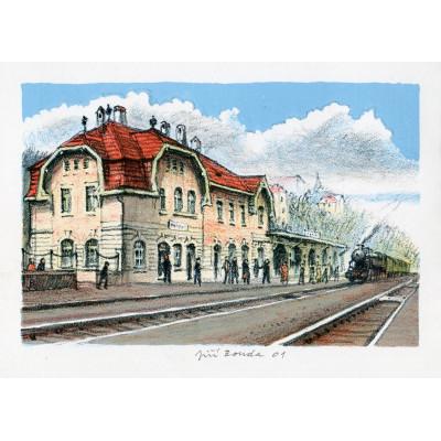 Železniční stanice Roztoky