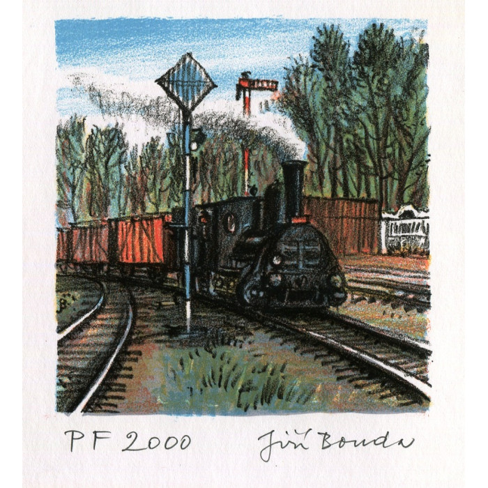 Stařičká lokomotiva - PF 2000 Jiří Bouda