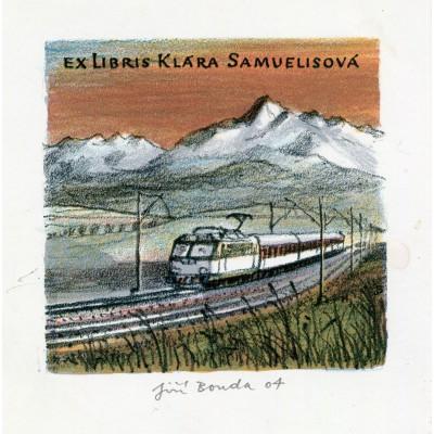 Vlak pod Alpami