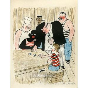 Hra v kostky (Dýmka strýce Bonifáce)