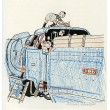 Děti na lokomotivě