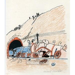 Srážka u tunelu (Pohádky o mašinkách)