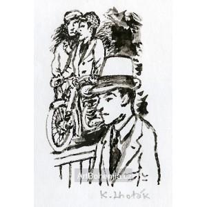 Motocykl (Bohumil Hrabal: Hovory lidí)