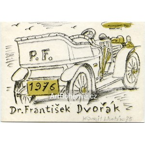 Veterán - PF 1976 Dr.František Dvořák