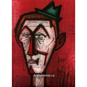 Le clown au fond rouge (Klaun za červeném pozadí)