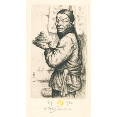Čínský kuchař, opus 529 - PF 1930 T.F.Šimon