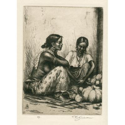 Malajské ženy s ovocem, opus 522 (Črty z Orientu)