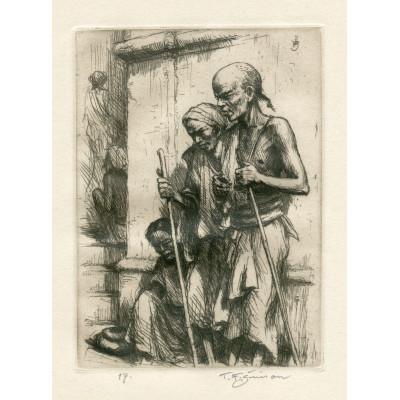 Indičtí žebráci, opus 523 (Črty z Orientu)