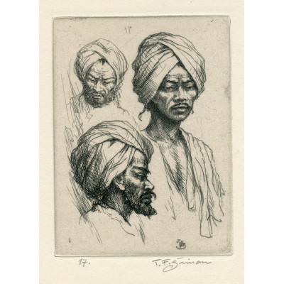 Typy Indů v turbanech, opus 525 (Črty z Orientu)