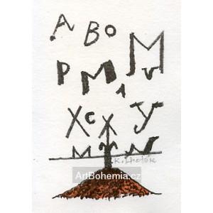 Kopec s písmeny