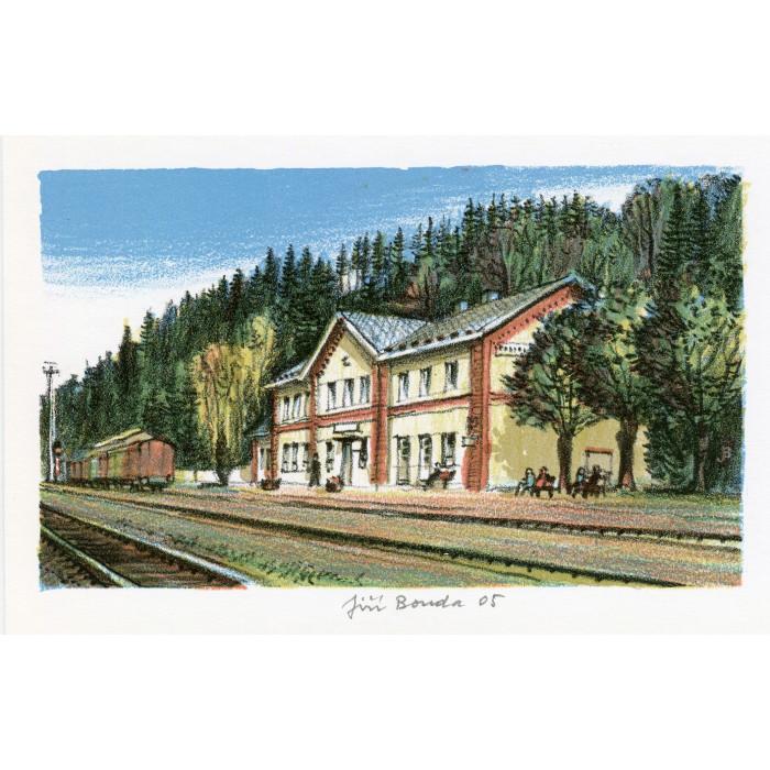 Železniční stanice Police nad Metují