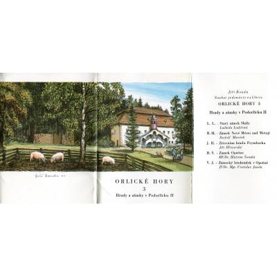 Orlické hory - soubor jedenácti grafik