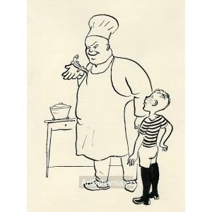 Ještěrka se dívala na pana Inocence a pan Inocenc na ještěrku (Dýmka strýce Bonifáce)
