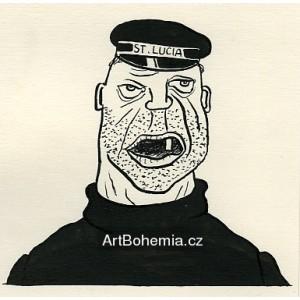 Bob Sulivan, řečený Slimák, měl jen jeden zub (Dýmka strýce Bonifáce)