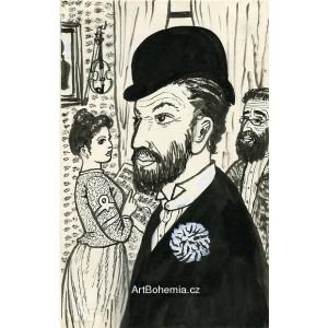 Menachem Mendl na večírku (Šolom Alejchem: Smolař Menachem Mendl)