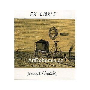 Nádrž na vodu a větrník - EXL Kamil Lhoták