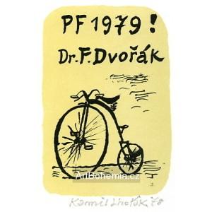 Kostitřas - PF 1979 Dr.František Dvořák