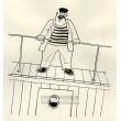 Jeho povely burácely z kapitánského můstku (Dýmka strýce Bonifáce)