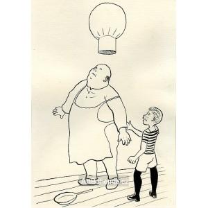 Kuchařská čepice pana Inocence se vzdula jako balon (Dýmka strýce Bonifáce)