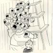 Hromada gulášových konserv zřítila se na hlavu (Dýmka strýce Bonifáce)