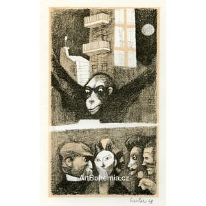 Opice v městě (Zlatý skarabeus)