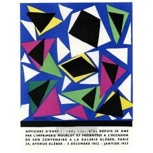 Affiches d´Expositions - Galerie Kléber, 1952 (Les Affiches originales)