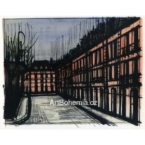 Paris - La Place des Vosges, 1962