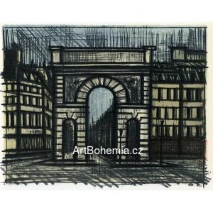Paris - La Porte Saint-Martin, 1962