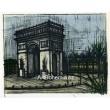 Paris - L´Arc de Triomphe, 1962