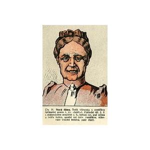 Stará dáma (Umění divadelního líčení)
