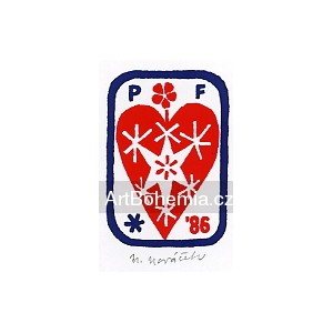 Srdce - PF 1986 Miloslav Nováček