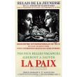 La Paix, Relais de la Jeunesse - Nice, 1950 (Les Affiches originales)