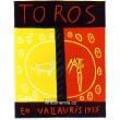 Toros en Vallauris, 1955 (Les Affiches originales)