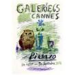 Exposition Picasso - Galerie 65, Cannes, 1956 (Les Affiches originales)