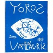 Toros en Vallauris, 1957 (Les Affiches originales)