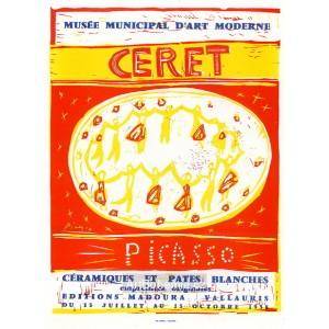 Céramiques et pates blanches - Musée municipal d´Art moderne, Ceret, 1958 (Les A