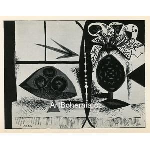 Composition au vase de fleurs, opus 74 (10.3.1947)