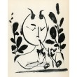 Faune aux branchages (Faun with branches) (10.3.1948)