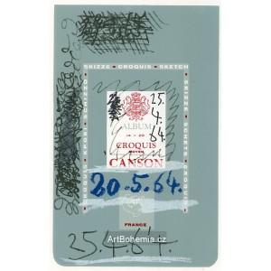 Skizze Croquis Sketch Album 20.5.1964-25.4.1964 (Le Goût du bonheur)