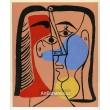 Grande tête rouge, bleue, jaune (1962)
