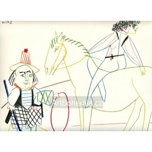 Circus Rider and Horse Breaker (La Comédie Humaine) (30.1.1954 II)